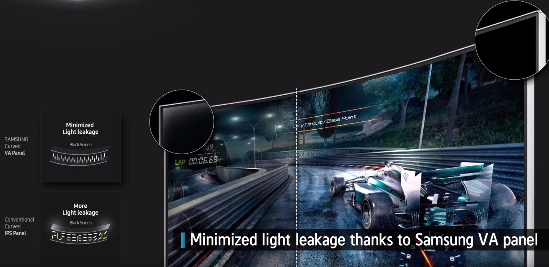 Samsung CF791 mit VA-Panel