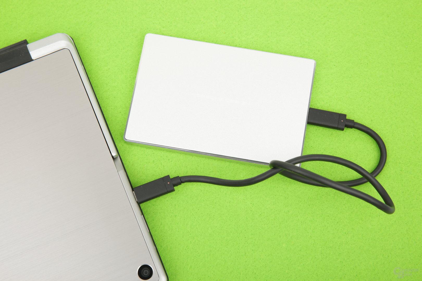 Eine 2,5-Zoll-HDD läuft ohne Probleme