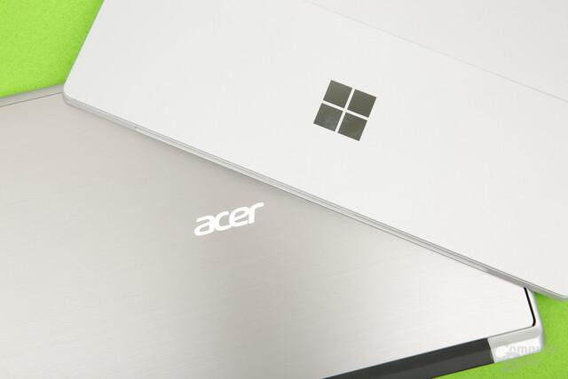 Acer Switch Alpha 12 und Surface Pro 4 sind durchaus Konkurrenten