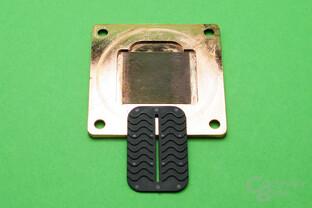 Phobya UC-2 LT: Düsenplatte