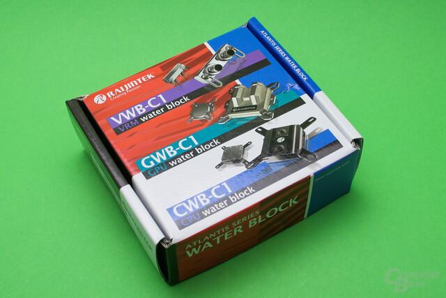 Raijintek CWB-C1: Verpackung