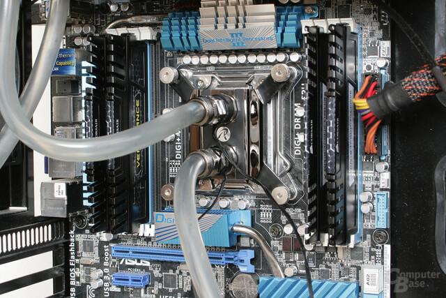 Raijintek CWB-C1 im Testsystem