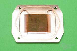 Watercool Heatkiller IV Pro Pure Copper: Bodenplatte mit Kühlfinnen