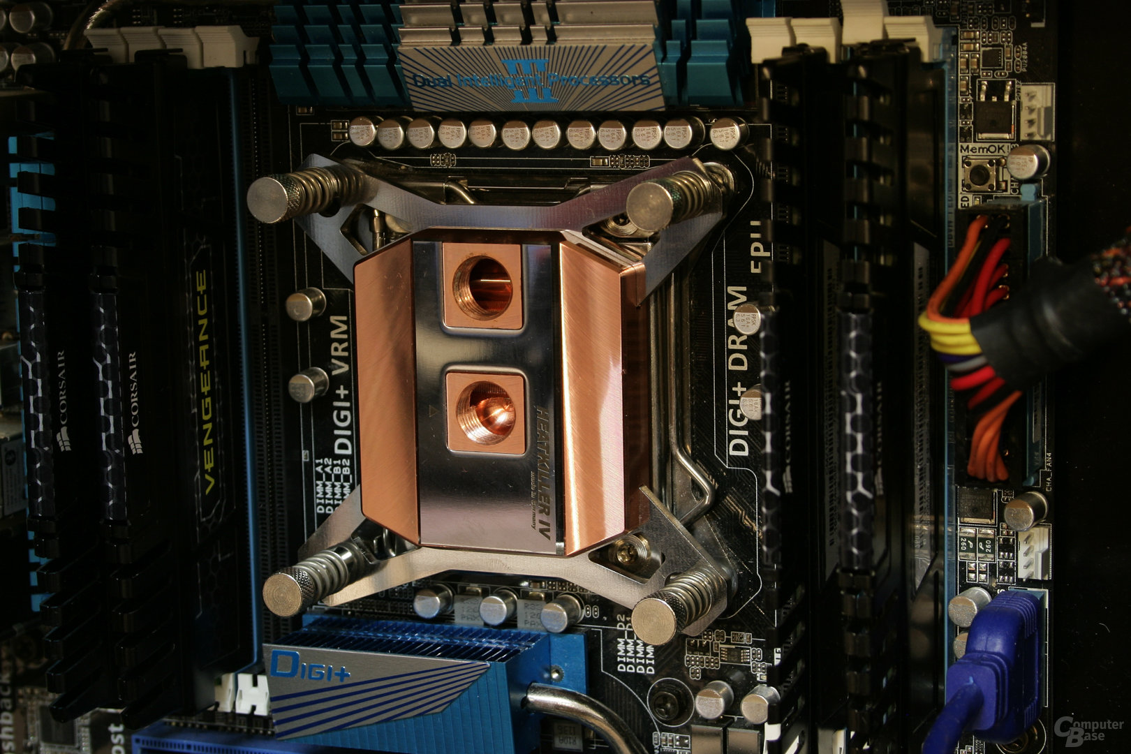 Watercool Heatkiller IV Pro Pure Copper im Testsystem