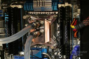 Watercool Heatkiller IV Pro Pure Copper im Testsystem