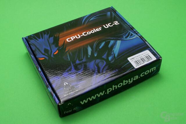 Phobya UC-2 LT: Verpackung