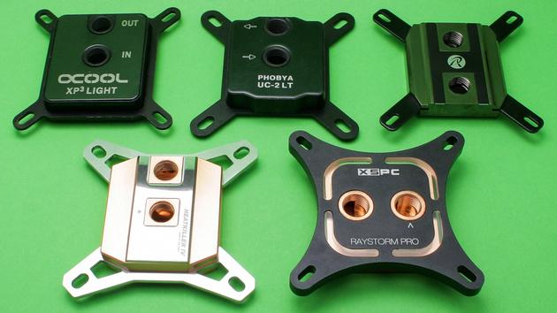 CPU-Wasserkühler im Test: Kühles Nass für hitzköpfige Prozessoren