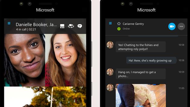 Skype: Preview der UWP-App jetzt auch für Windows 10 Mobile