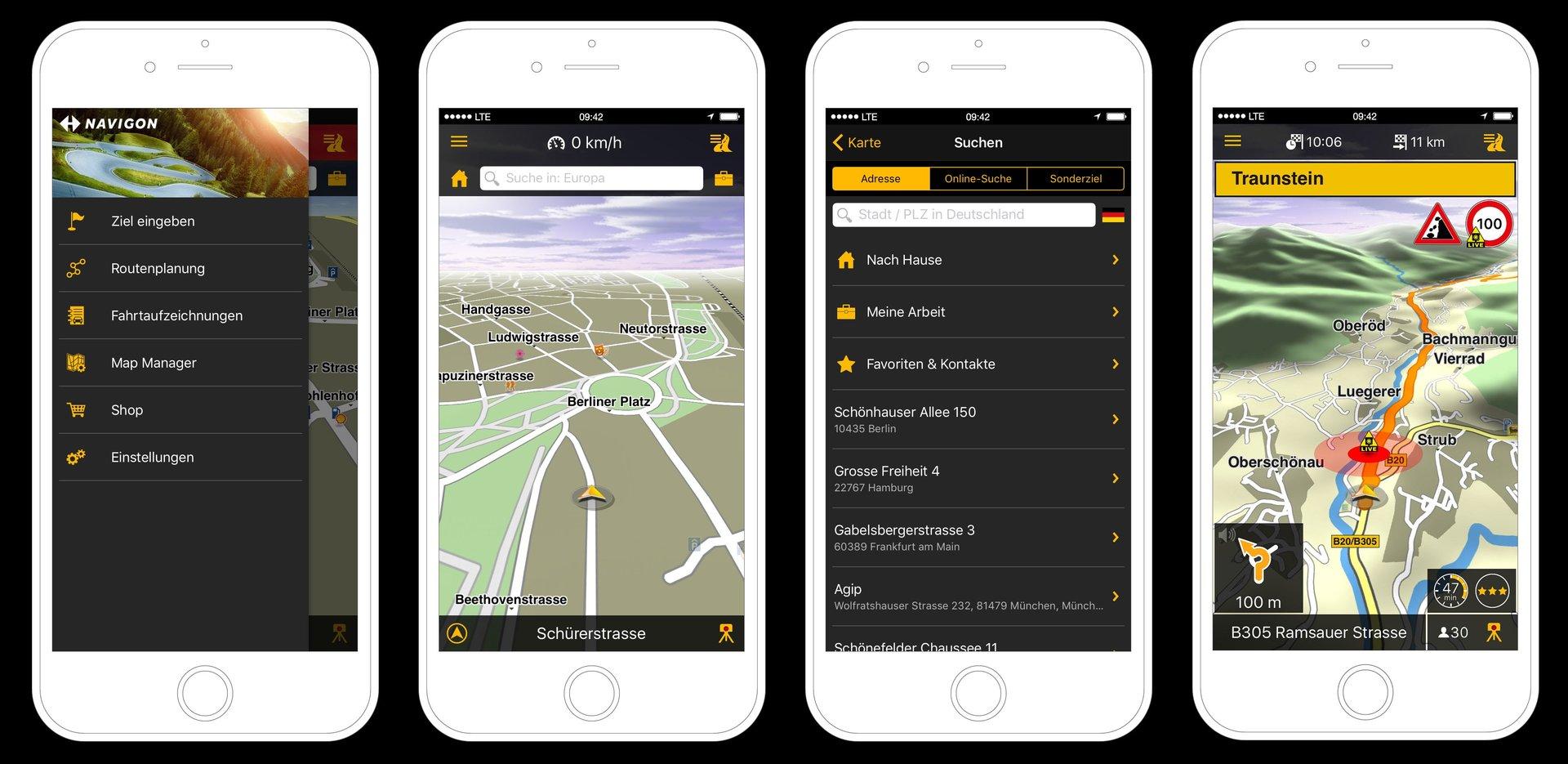 Das neue Garmin Navigon für iOS