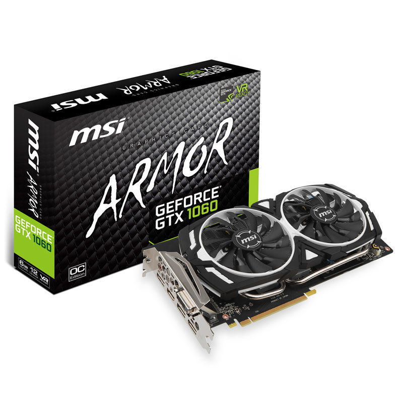 MSI GeForce GTX 1060 Armor