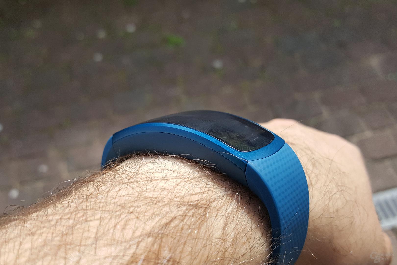 Samsung Gear Fit2 – Sehr guter Tragekomfort