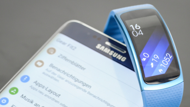 Samsung Gear Fit2 im Test: Sport-Smartwatch mit hohem Tragekomfort