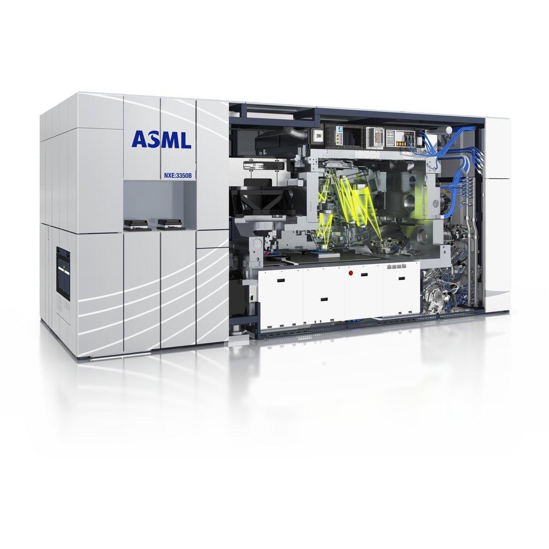 Belichtungsmaschine mit EUV-Lithografie von ASML