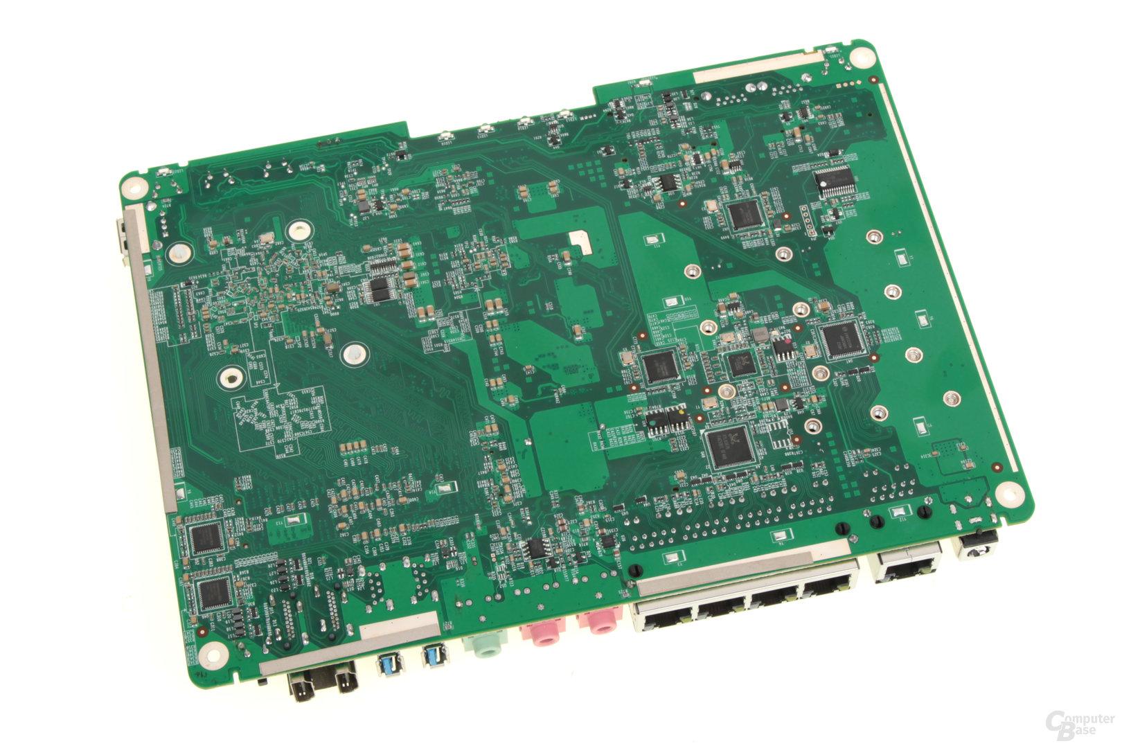 QNAP TBS-453A – Rückseite der Hauptplatine