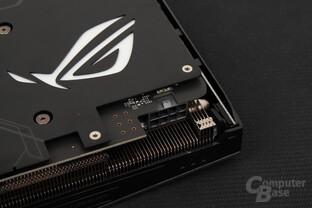 Die GPU speist sich zu 100 Prozent über den 8-Pin-Anschluss