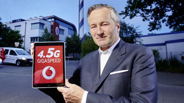 375 Mbit/s: Vodafone hat das schnellste nutzbare LTE‑Netz