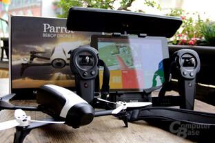 650 Euro für Bebop 2 mit Skycontroller Black