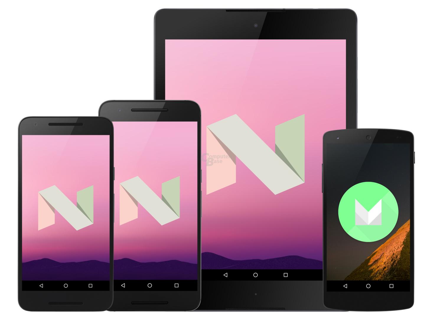 Kein Android 7.0 für das Nexus 5 und Nexus 7 (2013)