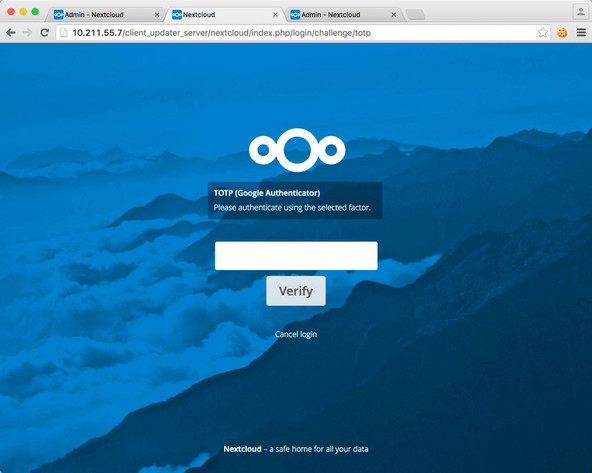 Nextcloud-2-factor