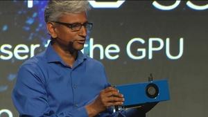 AMD Radeon Pro SSG: Grafikkarte mit Onboard-SSDs für große Datensätze