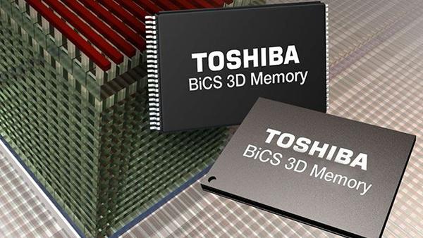 BiCS3: Toshiba und Western Digital fertigen 64-Layer-3D-NAND