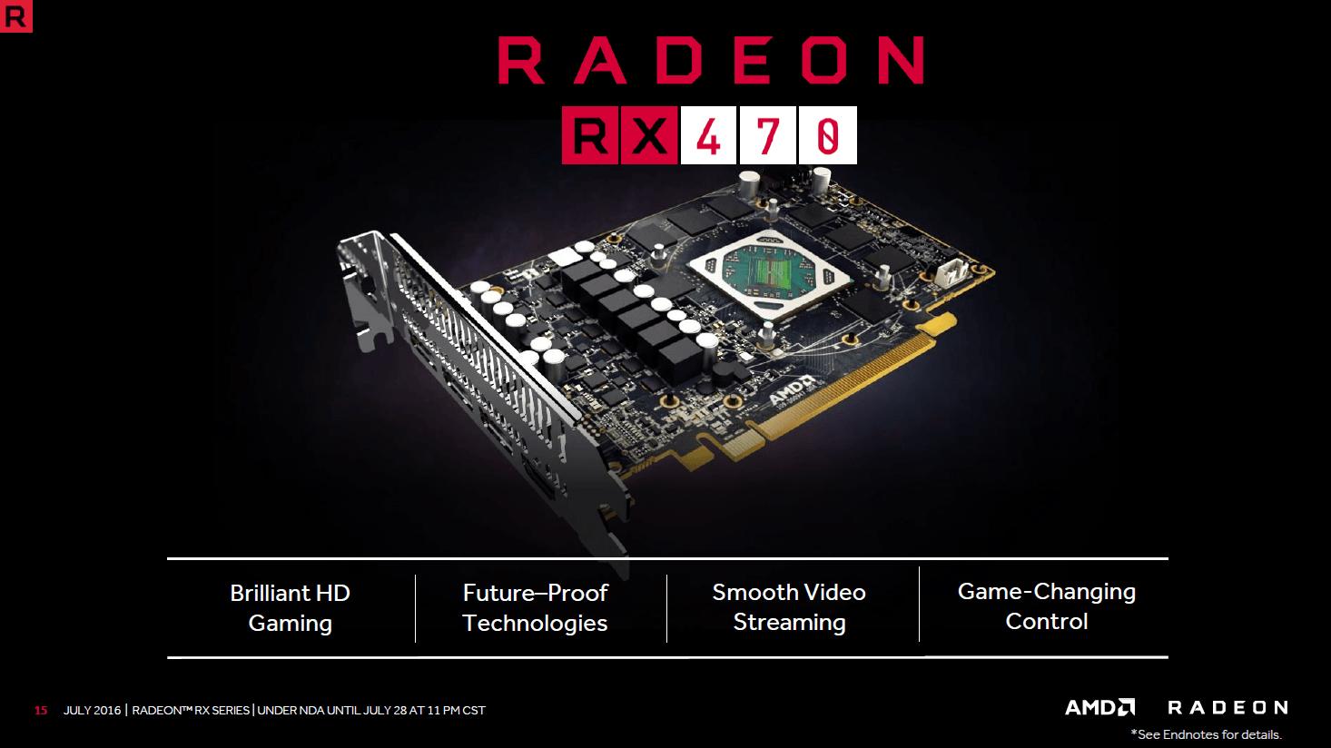 Details zur Radeon RX 470