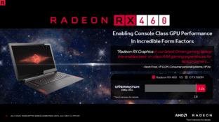 Die Radeon RX 460 im Notebook