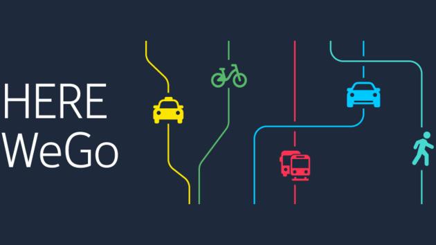 Here WeGo: Navigation bietet mehr Funktionen mit neuem Namen