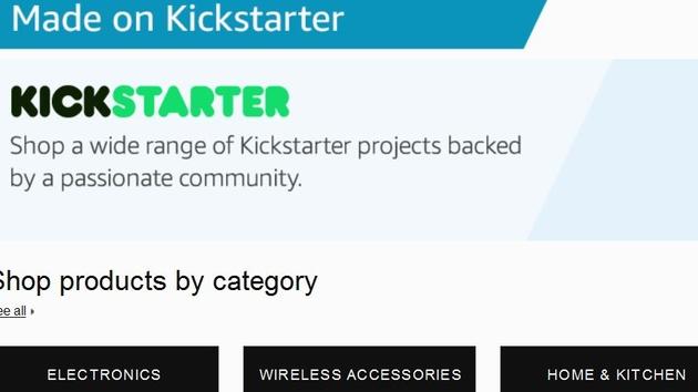 Amazon Launchpad: Kickstarter-Produkte erhalten eigenen Shop