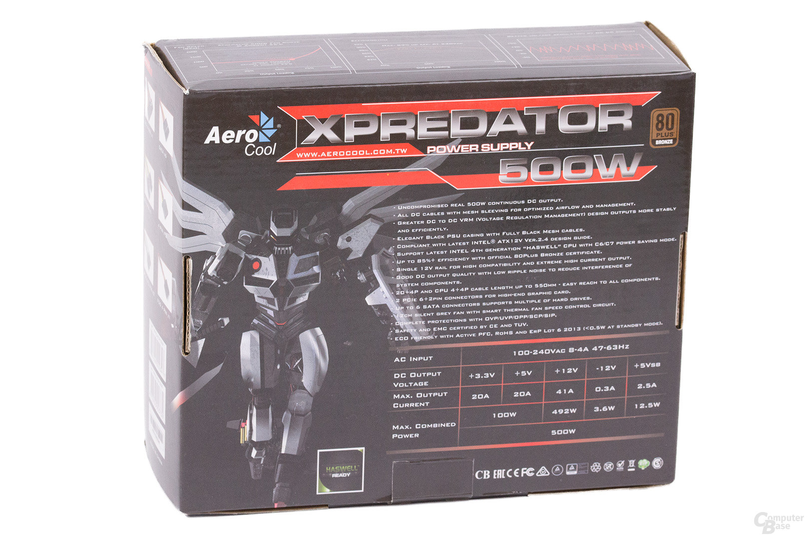 Aerocool Xpredator 500W