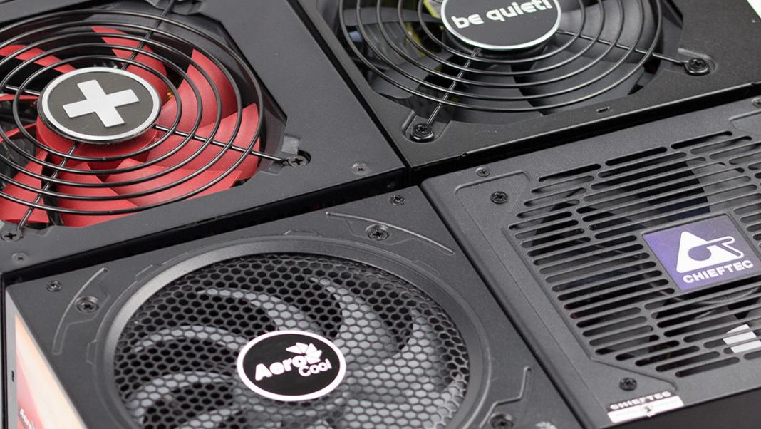 Kompakte 500-W-Netzteile im Test: Aerocool, be quiet!, Chieftec und Xilence für unter 50 Euro