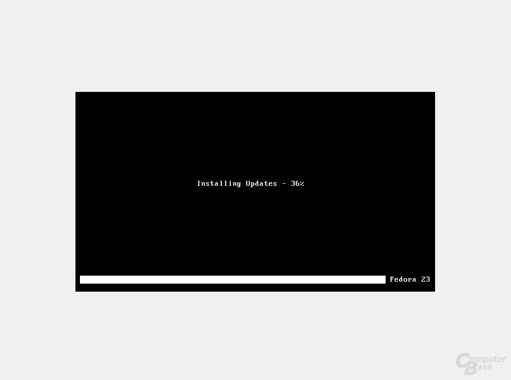 Offline-Aktualisierung vor dem Systemstart