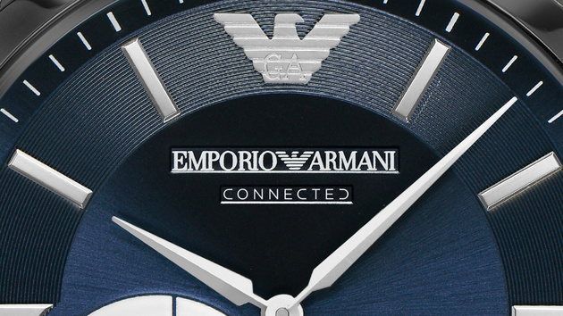 Emporio Armani Connected: Hybride Smartwatch ohne Akkuzwang