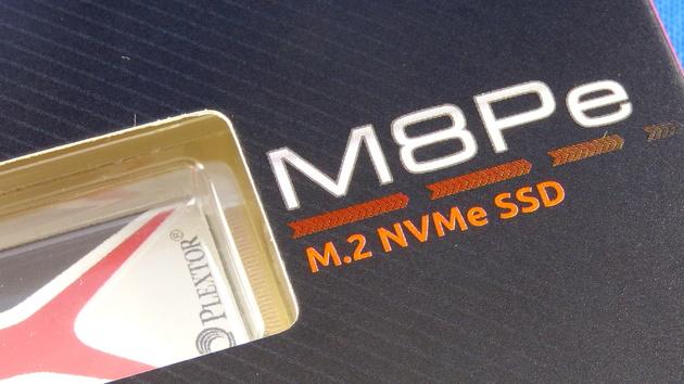 Plextor M8Pe: Schnelle NVMe-SSD ab Mitte August in drei Varianten