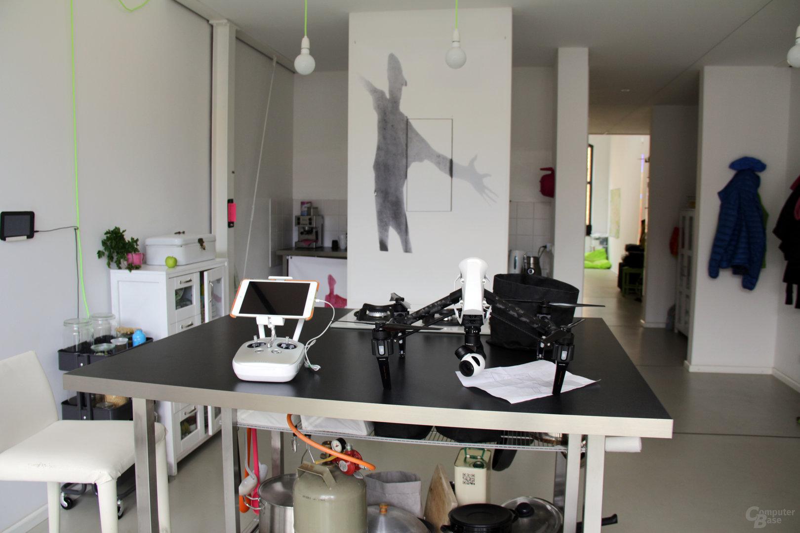 Das Berliner Atelier mit der DJI Inspire 1