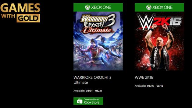 Games with Gold: Spelunky und Warriors Orochi 3 jetzt, WWE 2K16 später