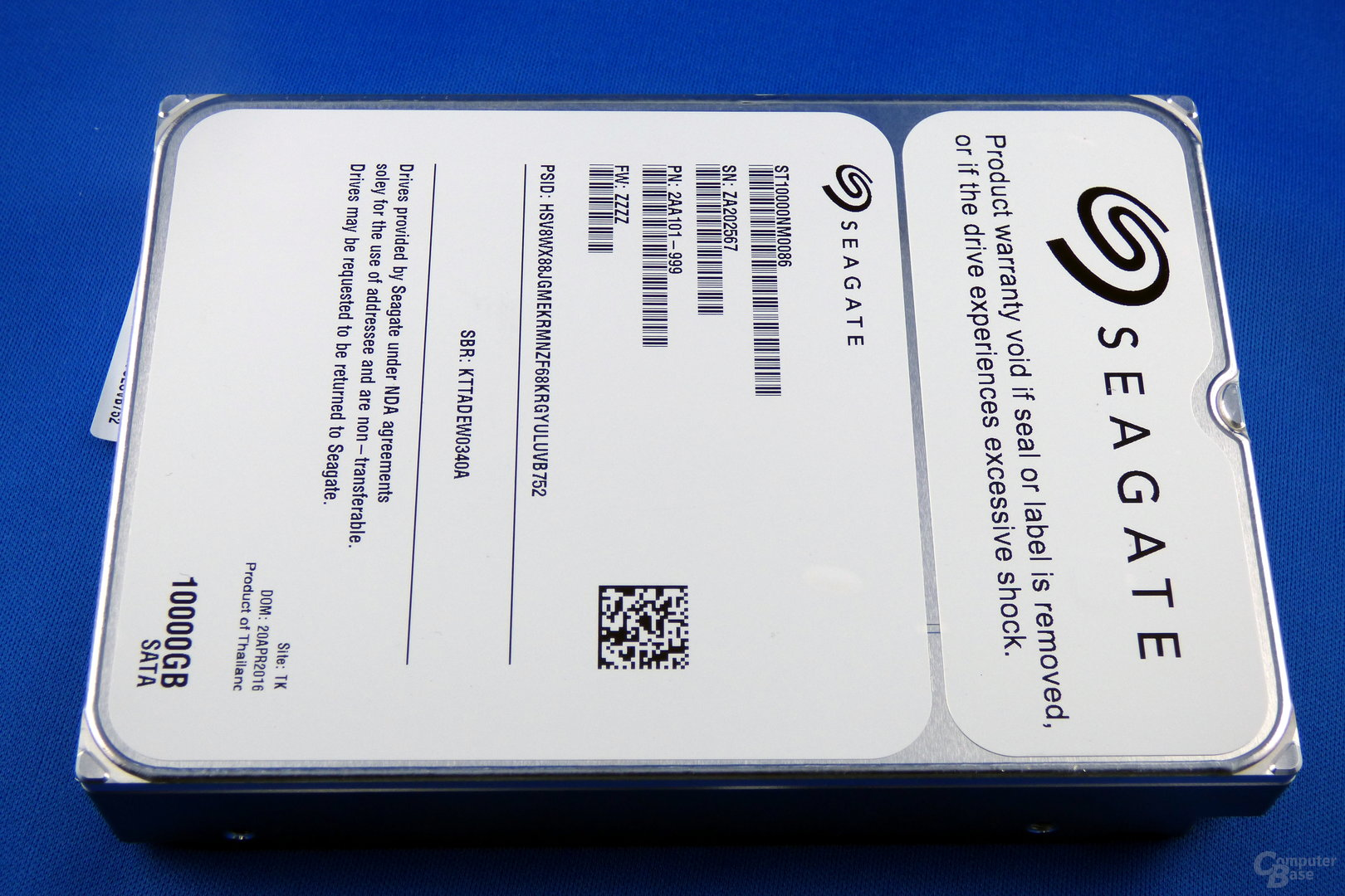 Seagate Enterprise Capacity 3.5 HDD 10TB
