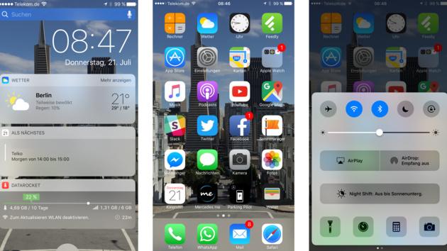 Apple: Dritte Public Beta von iOS 10 und macOS verfügbar