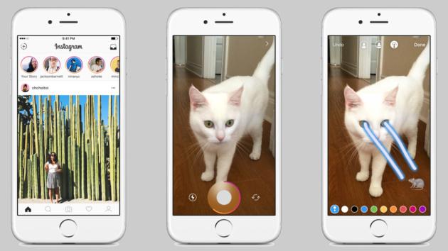 Stories: Neue Instagram-Funktion von Snapchat inspiriert