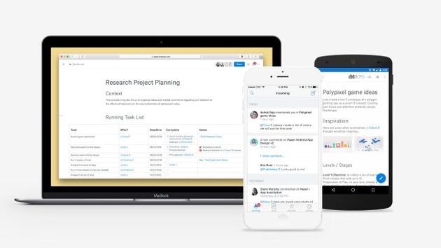 Dropbox Paper: Konkurrent für Google Docs geht in die offene Beta