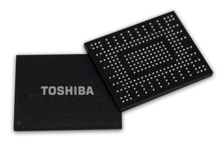 Toshiba BG Series als BGA-Chip