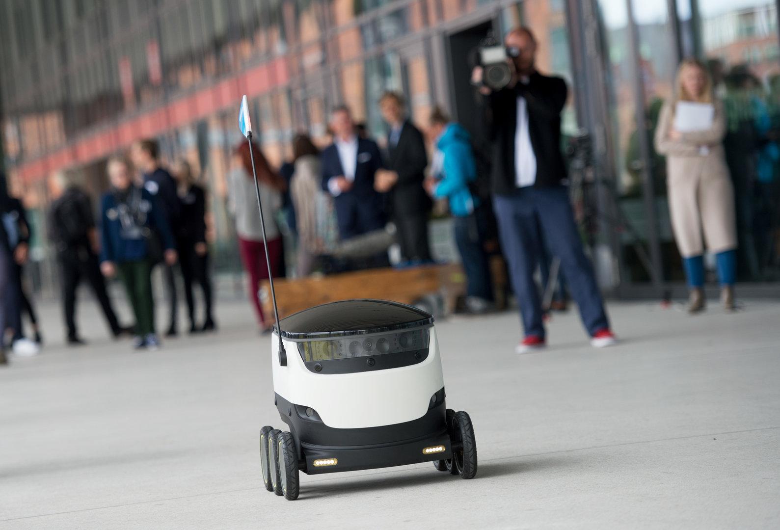 Zustellroboter von Starchip