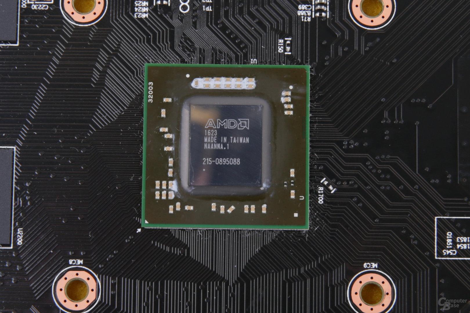Die Polaris-11-GPU