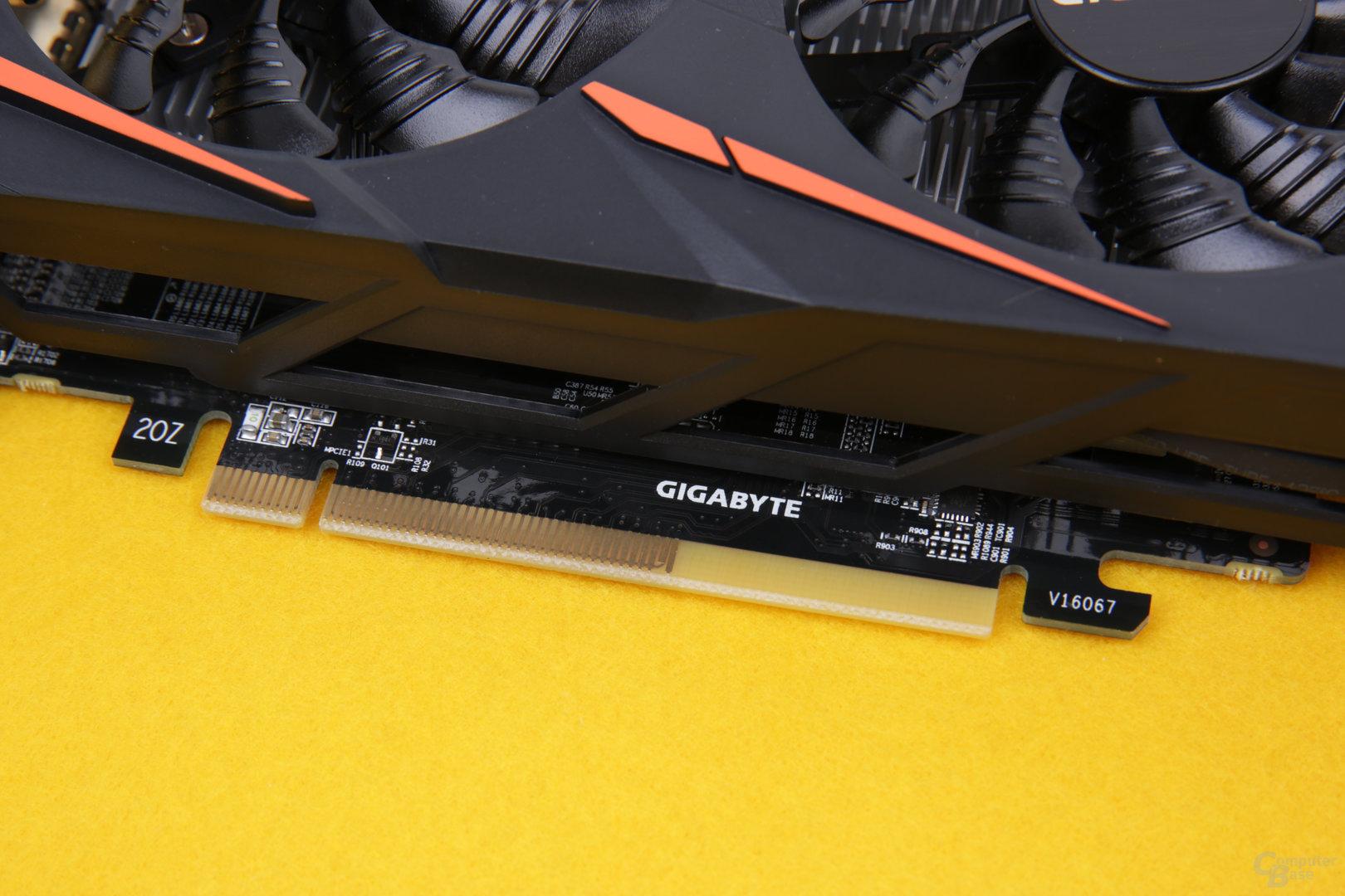 PCIe x8 gilt für alle RX-460-Karten