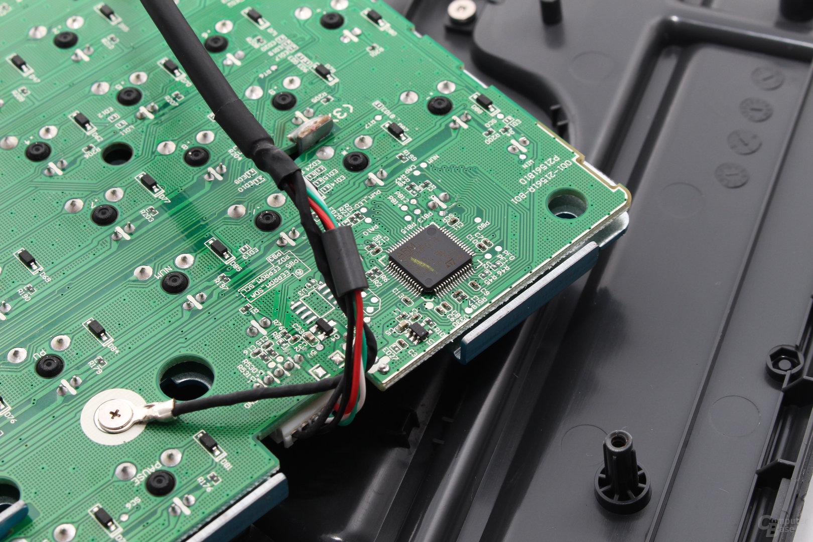 32-Bit-Mikroprozessor (ARM STM32F072)