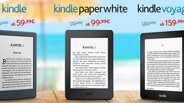 Aktion: Amazon reduziert Kindle‑Reader im Preis