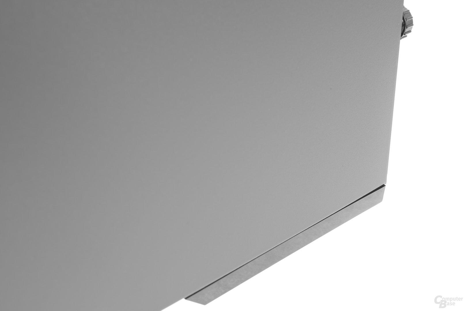 Chieftec GP-01B – Kleine ungleichmäßige Spaltmaße