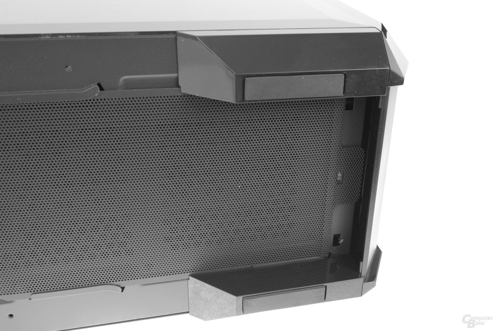 Chieftec GP-01B – Staubfilter sind schwer zu erreichen