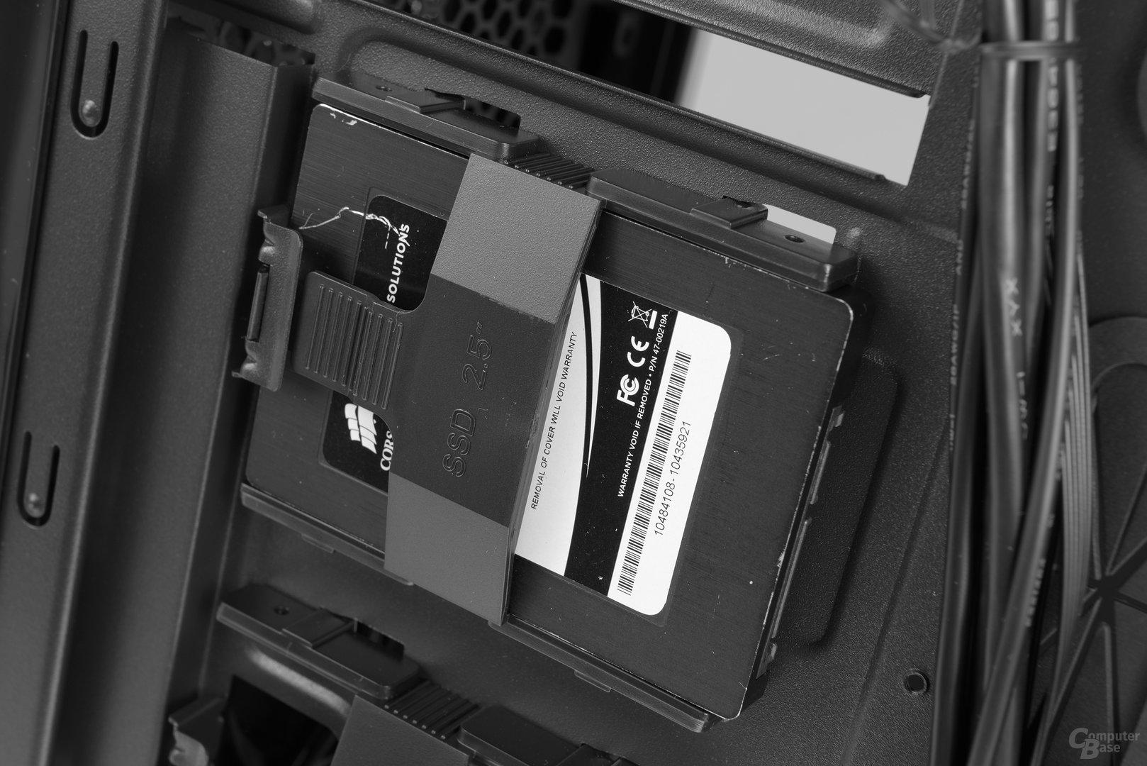 """Chieftec GP-01B – Halterung für 2,5""""-SSDs"""