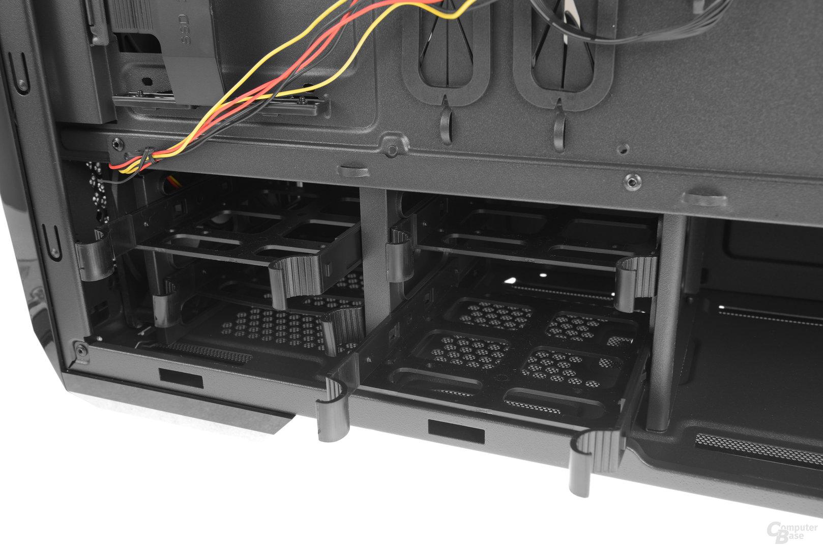 """Chieftec GP-01B – Vier 2,5""""- oder 3,5""""-Festplattenschienen"""